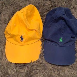 2 polo hats